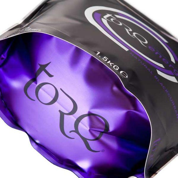 TORQ ENERGY - Natural Blackcurrant 1,5kg