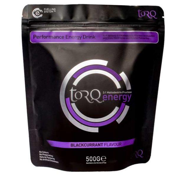 TORQ ENERGY - Natural Blackcurrant 500g