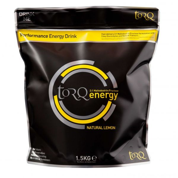 TORQ ENERGY - Natural Lemon 500g
